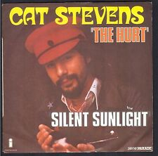 CAT STEVENS SP 45T 1973 / ISLAND RECORD 6138.030 THE HURT / SILENT SUNLIGHT