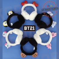 BT21 Character Winter Earmuff Black & White & 7types Official K-POP Authentic MD