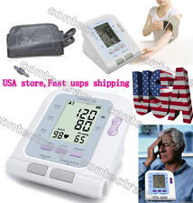 CE&FDA LCD Screen Digital Memory Arm Blood Pressure Monitor&Heart Beat Meter,USA