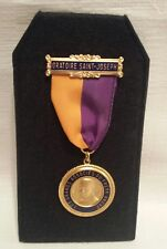 le Frère André le Frere Andre Brother Andre Medal with pouch and display stand