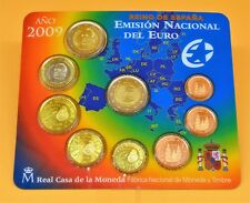 ESPAGNE 2009  : BU 1 cent - 2 euro avec la 2€ commémorative UEM. n°15184.
