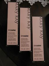 Mary Kay Timewise Luminous-Wear Liquid Found.* IVORY 4 **Lot-of-3-*Free Shipping