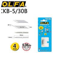 1 / 3 Pack OLFA KB-5/30B Art Cutter Knife Blade 4mm MADE IN JAPAN_V