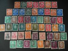 Stamps Germany 1902+ defs., some duplication good/fine used