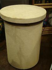 ESTATE ART DECO CERAMIC GOLD METALLIC SIDE END TABLE ATTRIBUTED TO SERGE  ROCHE!!