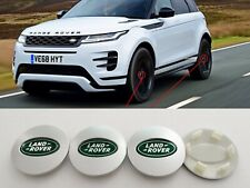 4 Tappi Coprimozzo Land Rover logo emblema Range evoque sport freelander cerchi