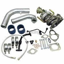CXRacing TD05 16G Turbo Charger w/ J pipe Kit For 2G DSM Eclipse Talon
