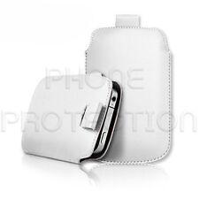 Leder Pull Tab Hülle Case Cover Etui für verschiedene Handys