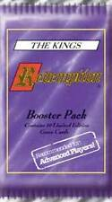 Redemption Booster The Kings - three pack special, New, Christian CCG, all ages!