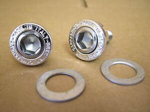 New-Old Stock Campy Crank Bolts for Square Tapered Bottom Bracket...with Washers