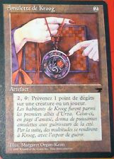 AMULETTE DE KROOG - ARTEFACT - VF - CARTE MTG MAGIC