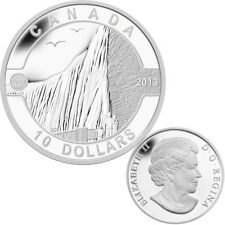 2013 O Canada Series $10 Fine Silver  Coin - Niagara Falls (TAX Exempt)