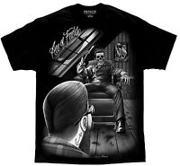 Barber Shop Fresh Cut Rockabilly Greaser David Gonzales DGA T Shirt