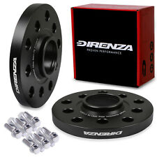 DIRENZA 5x112 15mm HUBCENTRIC WHEEL SPACER PAIR FOR SEAT ALTEA XL LEON CUPRA ST