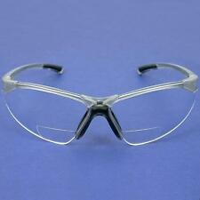 Radians C2 1.0 Clear Bifocal Reading Safety Glasses New
