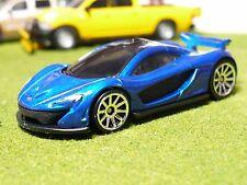 2014 McLaren P1 Limited Production Hybrid Super Car, Blue Metallic