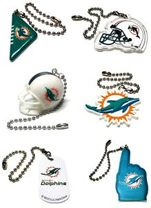 """MIAMI DOLPHINS NFL FOOTBALL LIGHT LAMP PULL 6"""" CHAIN EASY CONNECTOR U PICK"""