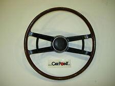 Mahogany Wood Steel Core Steering Wheel Porsche 911 912 65-68 42cm with Signal