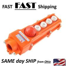 Up Down East West Left Right Push button Crane Control Box REPLACEMENT HD