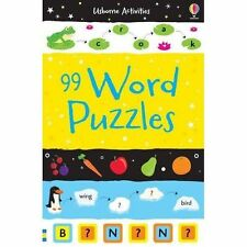 99 Word Puzzles (Usborne Puzzle Books), Various, Very Good condition, Book