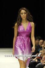 "(new with tags) $399 GASP ""emanuella"" purple silk dress"