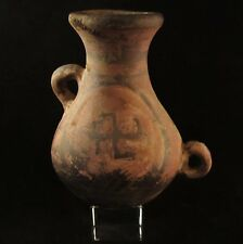 Ancient Mesopotamia Sumerian Indus Valley  Pottery w/Ancient Swastika Symbol