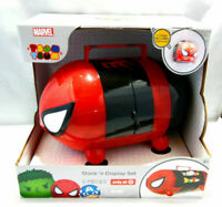 DISNEY TSUM TSUM STACK 'n DISPLAY SET MARVEL SPIDER MAN EDITION BRAND NEW IN BOX