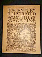 Century Illustrated Monthly Magazine November 1890 Emigrant Train to California