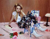 Kim Petras Signed Autographed 8x10 Photo Singer COA
