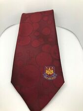 WEST HAM Football Vintage Made In England ~ Bubbles Club Tie Matthew Alun