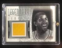 MAGIC JOHNSON 2001 UD UPPER DECK LEGENDARY JERSEY PATCH LAKERS