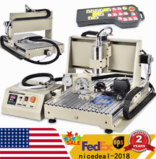 Usb 4axis Cnc 6040z Router Engraving Wood Drillmilling Machine 15kwcontroller