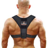 Posture Corrector Back Support Body Brace Wellness Lumbar Shoulder Support Belt