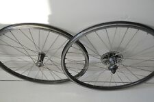 "Retro 26"" Wheels Pair Pace Carbon RC 50 hub Shimano LX Mavic D521 SUP 32 Hole"