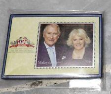 2017 Malaysia UK Prince Charles Miniature Stamp MS MNH