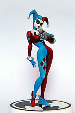 Harley Quinn Custom Suicide Squad Statue Repaint Black White Figure DC Batman