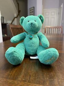 Russ May Bears of the Month Plush Birthstone/Birthday w/ Bracelet Emerald Heart