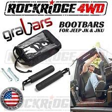 Bootbars (Foot Pegs) by Grabars Black fits Jeep Wrangler JK & JKU 07-17 USA MADE