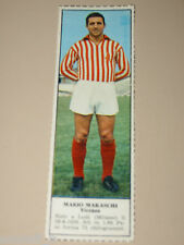 *+ MARIO MARASCHI LANEROSSI=FIGURINA=1966/67=ALBUM FIGURINE CALCIATORI TEMPO