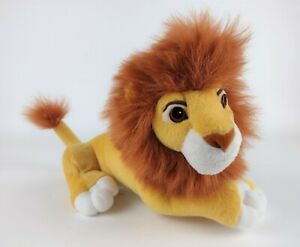 Vintage 1998 Disney's The Lion King Simba's Pride Plush Stuffed Animal By Mattel