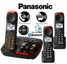 Panasonic Amplified 3 Cordless Phone Digital Answering KX-TGM430B