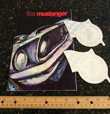 Rare The Mustanger Magazine Winter 1969 Boss 429 Mustang! Graphic art! Shelby GT