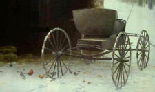 Old Buggy And Winter Birds by Robert Bateman Limited Edition