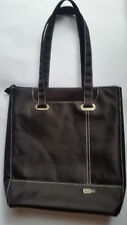 Solo Tote Bag Laptop Case Black Nylon