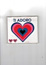 DJ FRANCESCO FACCHINETTI VS PAVAROTTI - TI ADORO - CDS NUOVO SIGILLATO