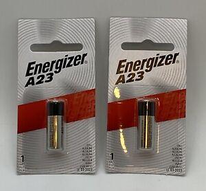 Energizer A23 Magnesium Oxide Batts A23BPZ - 12 Volt - LOT OF 2