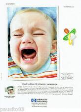PUBLICITE ADVERTISING 036  1999  Hewlett Packard  imprimante HP deskjet photo