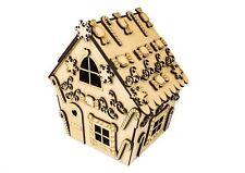Kit de Madera de Navidad casa de pan de jengibre – Navidad Decoración Decoraciones De Mdf