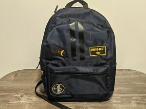 FALLOUT Official Vault-Tec Black/Navy Blue Backpack RARE Travel/School Bag