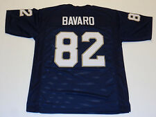 MARK BAVARO unsigned blue college style jersey mens adult XL